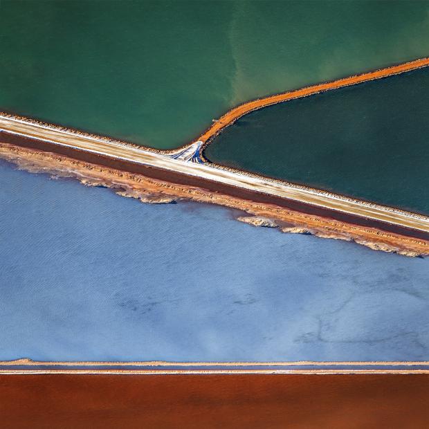Salt Pond Abstract