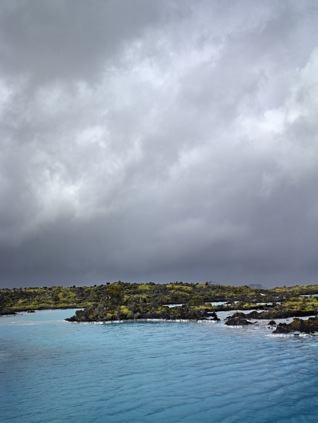Lava Rocks at Blue Lagoon