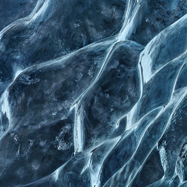 Ice Cave Abstract 2