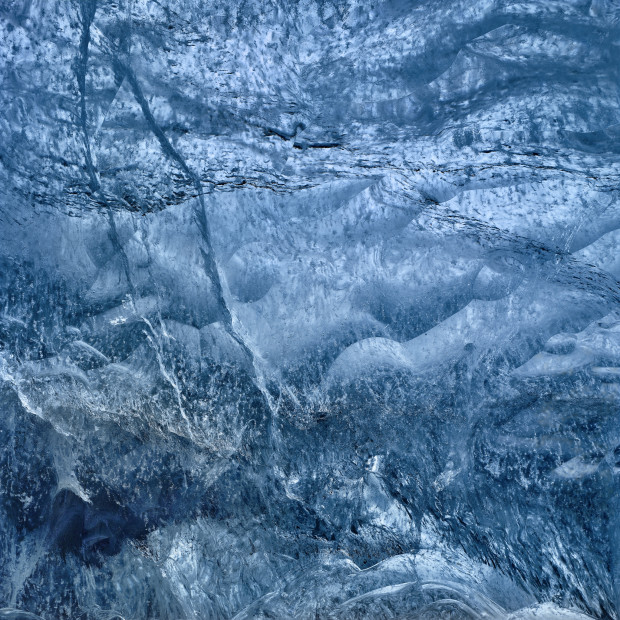Ice Cave Abstract 3