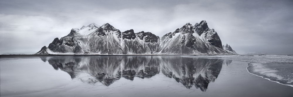 Vestrahorn Mountains Panorama